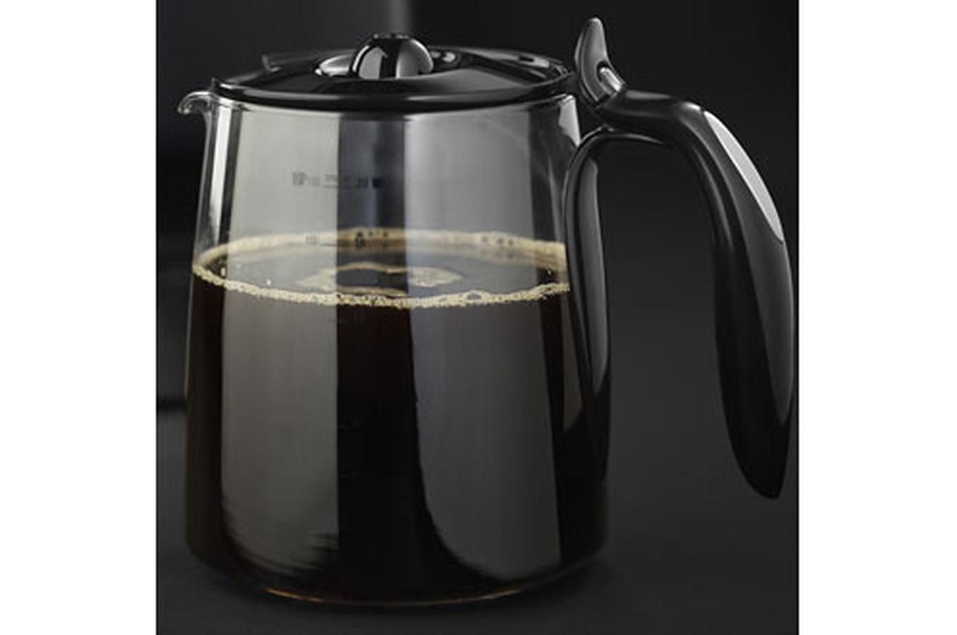 cafeti re filtre russell hobbs 15074 56 stylis noir. Black Bedroom Furniture Sets. Home Design Ideas
