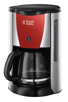 Russell Hobbs Cafetire Colours rouge flamboyant - Technologie
