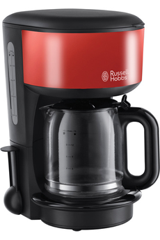 Cafetière 20131-56 COLOURS ROUGE FLAMBOYANT Russell Hobbs