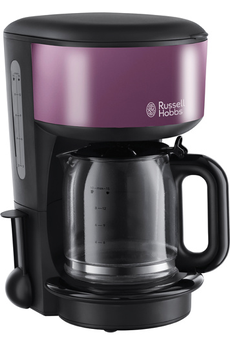 Cafetière filtre 20133-56 COLOURS PRUNE PASSION Russell Hobbs