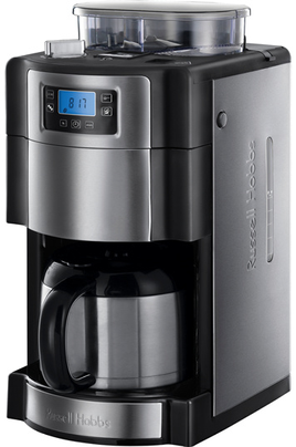 Cafeti re filtre russell hobbs 21430 56 buckingham semi automatique buckingham semi auto - Machine a cafe avec broyeur integre ...