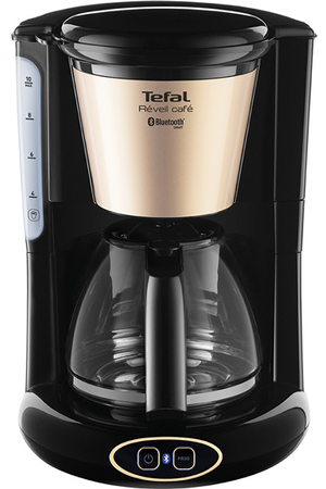cafeti re filtre tefal cm450800 r veil caf connect cm450800 darty. Black Bedroom Furniture Sets. Home Design Ideas