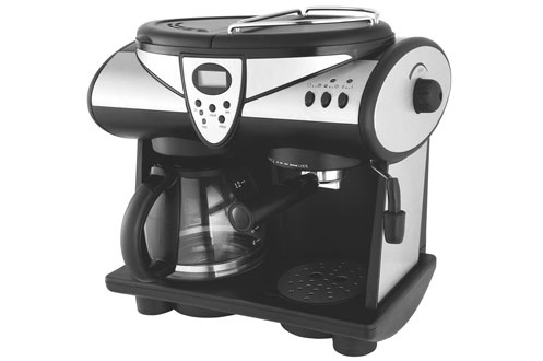 combin expresso cafeti re climadiff 1605 t silver timer 3121755. Black Bedroom Furniture Sets. Home Design Ideas