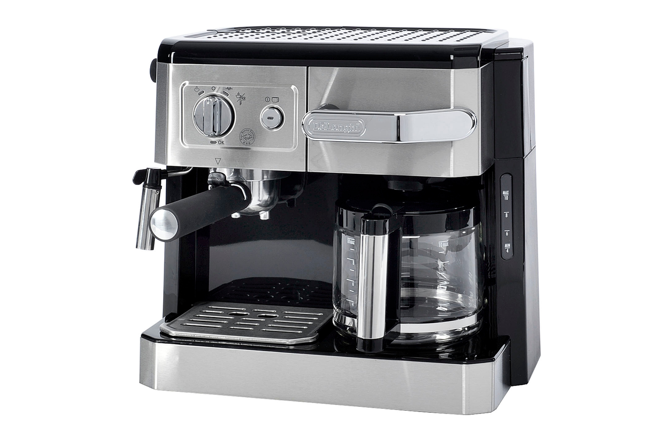 combin expresso cafeti re delonghi bco420 metal. Black Bedroom Furniture Sets. Home Design Ideas