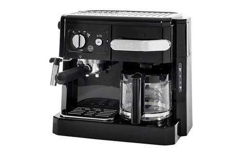combin expresso cafeti re delonghi bco 410 darty. Black Bedroom Furniture Sets. Home Design Ideas