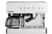 Combiné expresso cafetière Magimix 11423 CHROME MAT