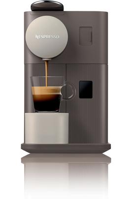 Expresso à capsules - Pression 19 bars 3 boissons en accès direct avec icones rétroéclairés Système de chauffe thermoblock Fonction arrêt automatique (après 9 minutes)