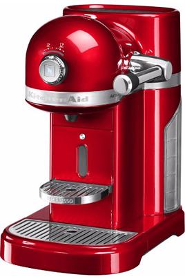 Expresso à capsule - Pression 19 bars 6 réglages : quantité et l'intensité du café Système d'insertion de la capsule avec levier automatique Eco-timer programmable
