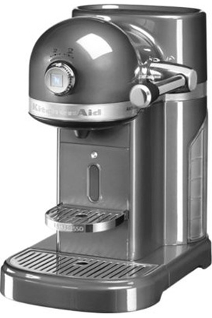 expresso kitchenaid artisan nespresso gris tain 5kes0503ems 5 5kes0503ems 5 darty. Black Bedroom Furniture Sets. Home Design Ideas