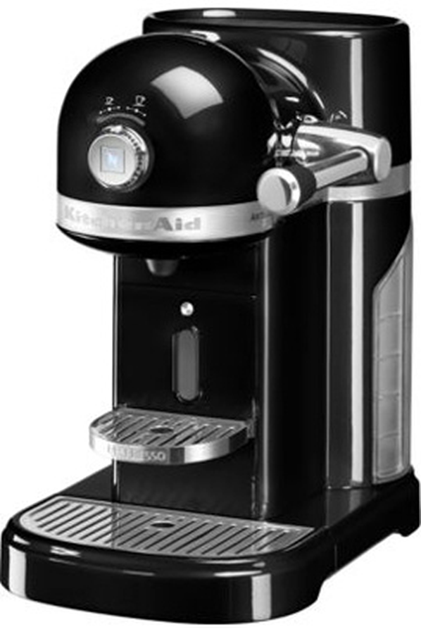expresso kitchenaid artisan nespresso noir onyx. Black Bedroom Furniture Sets. Home Design Ideas