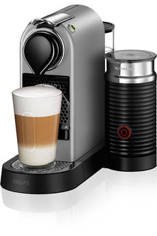 Expresso NESPRESSO CITIZ MILK SILVER YY2732 Krups