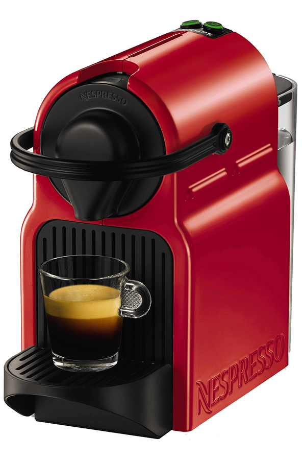 expresso krups inissia nespresso ruby red yy1531fd - inissia