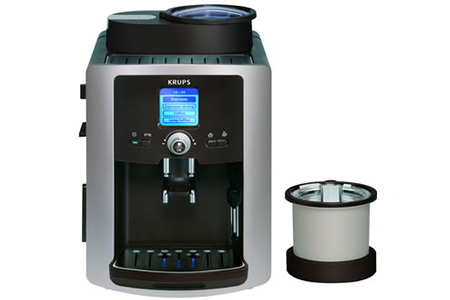 expresso krups xp 7020 robot cafe moulu 2 pots xp 7020 darty. Black Bedroom Furniture Sets. Home Design Ideas
