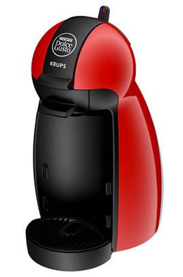 Expresso Krups YY1051 NESCAFE DOLCE GUSTO PICCOLO ROUGE
