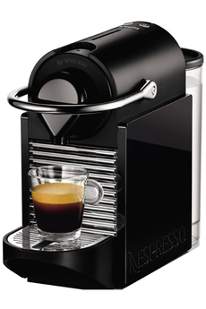 Expresso PIXIE CLIP NESPRESSO NOIR/ JAUNE NÉON YY1206FD Krups