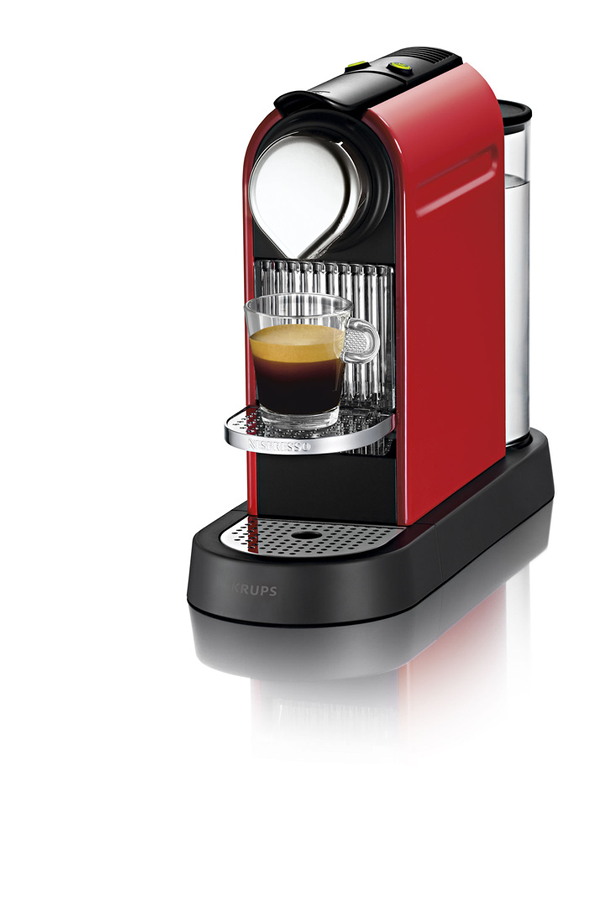 Expresso krups citiz nespresso rouge flamme yy1471 yy1471 citiz rouge 3750442 darty - Machine a cafe krups nespresso ...