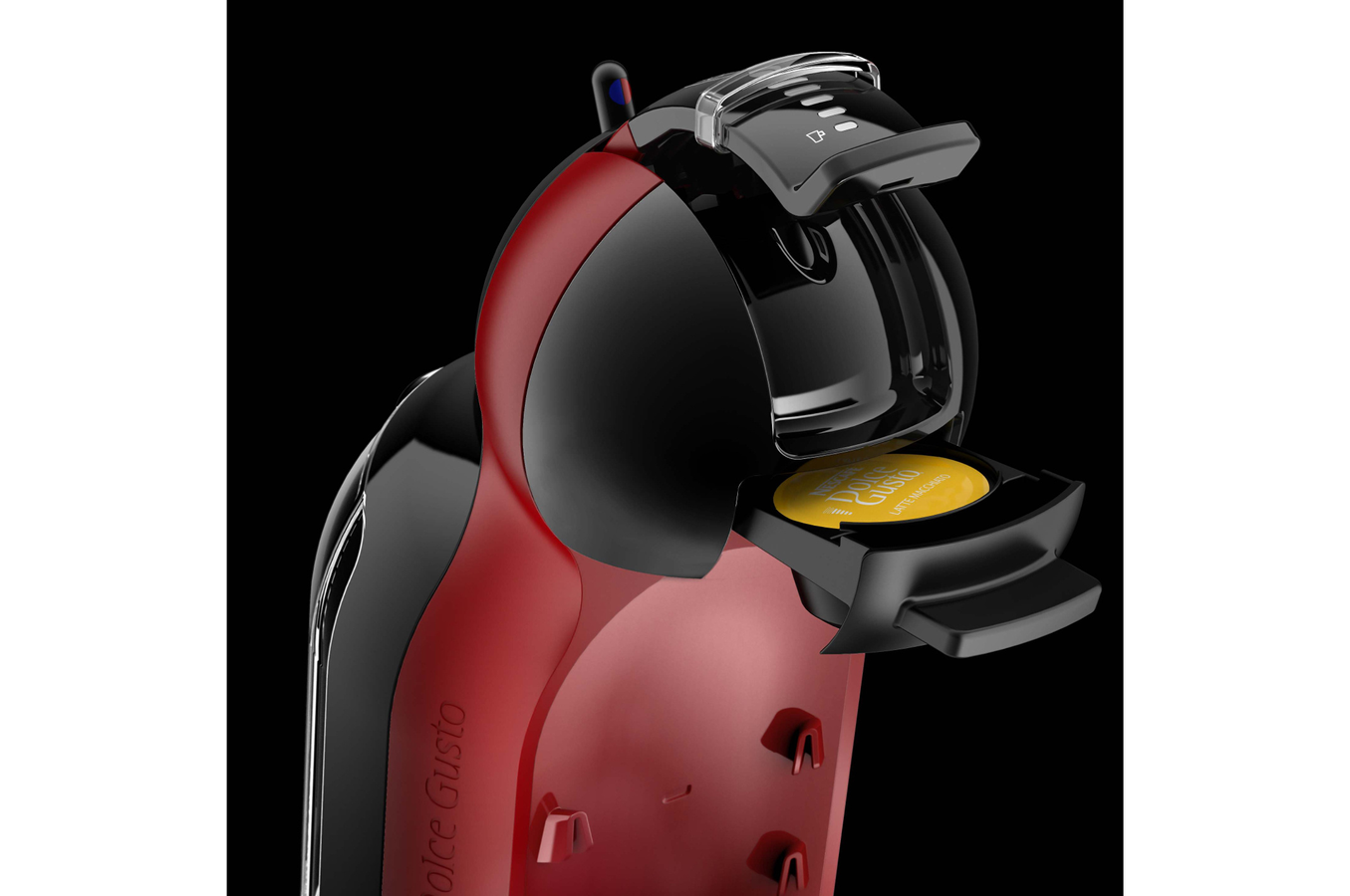 expresso krups nescafe dolce gusto mini me rouge et noir yy2749fd yy2749fd dolce gusto darty. Black Bedroom Furniture Sets. Home Design Ideas