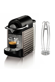 Expresso YY3006FD NESPRESSO PIXIE TITANE + PORTE CAPSULES Krups