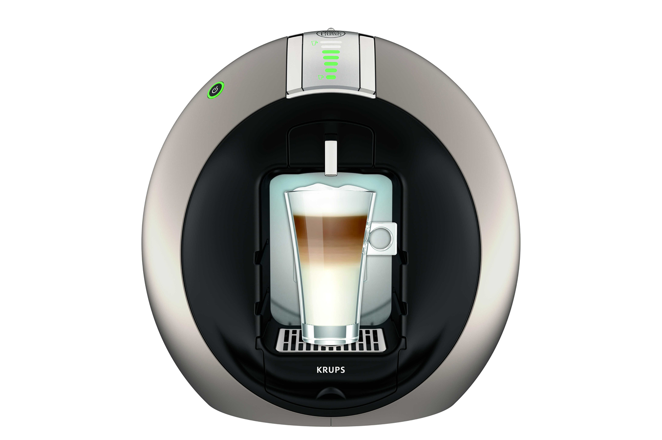 Expresso krups nescafe dolce gusto circolo titane yy6001fd - Cafetiere dolce gusto darty ...