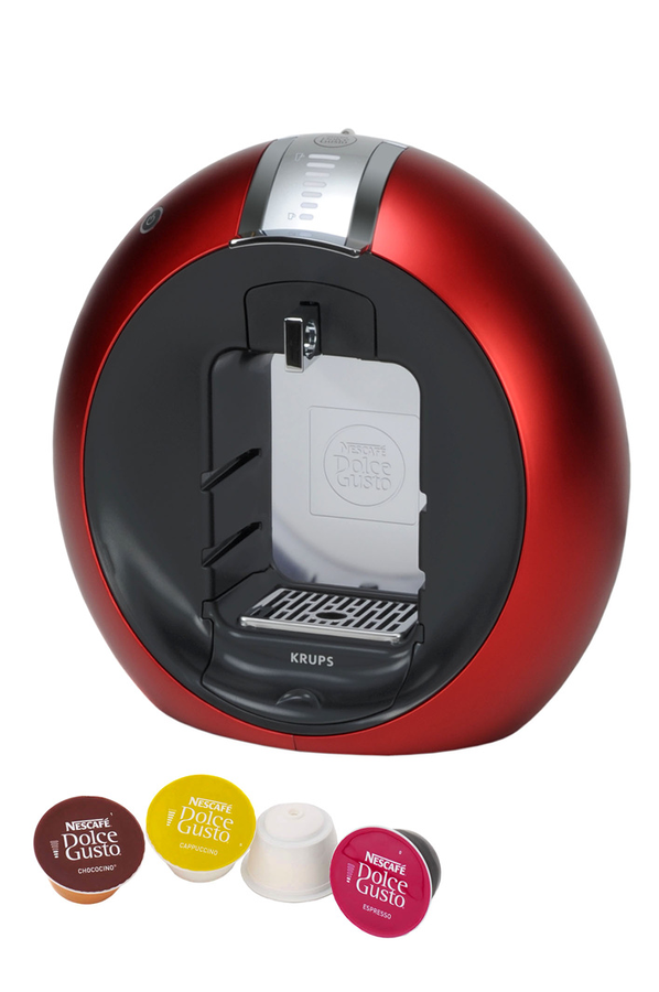 expresso krups nescafe dolce gusto circolo rouge yy6002fd yy6002fd dolce gusto circolo. Black Bedroom Furniture Sets. Home Design Ideas