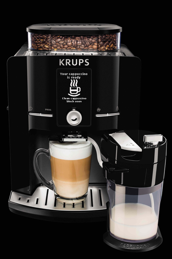 expresso avec broyeur krups yy8126fd espresso full auto. Black Bedroom Furniture Sets. Home Design Ideas