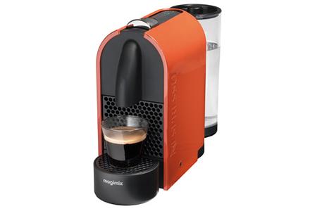 expresso magimix u nespresso orange pur 11341 m130 11341 nespresso u m130 darty. Black Bedroom Furniture Sets. Home Design Ideas