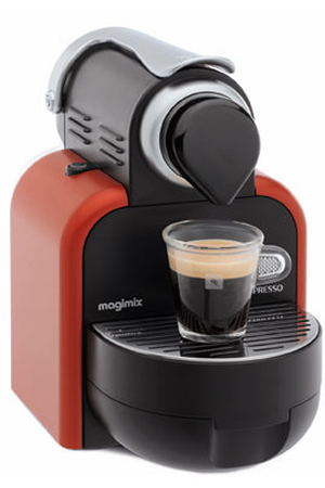expresso magimix nespresso essenza auto rouge 11280 m100 11280 m100 a rou gla darty. Black Bedroom Furniture Sets. Home Design Ideas