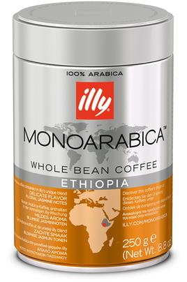 Café en grain Illy GRAINS ETHIOPIE 250G
