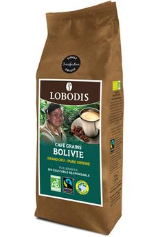 Café en grain BOLIVIE GRAIN BIO 250 G Lobodis