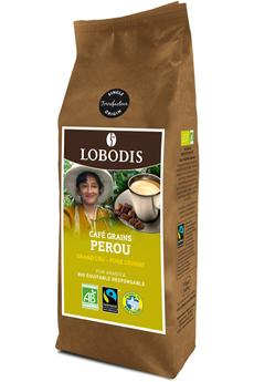 Café en grain PEROU GRAIN BIO 250G Lobodis