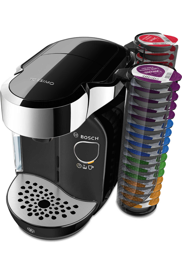 cafeti re dosette ou capsule bosch tassimo caddy tas7002. Black Bedroom Furniture Sets. Home Design Ideas