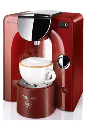 cafeti re dosette ou capsule bosch tas 5543 tassimo rouge tassimo darty. Black Bedroom Furniture Sets. Home Design Ideas
