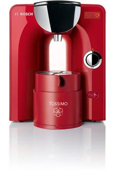 Cafetière à dosette TAS5546 TASSIMO CHARMY ROUGE Bosch