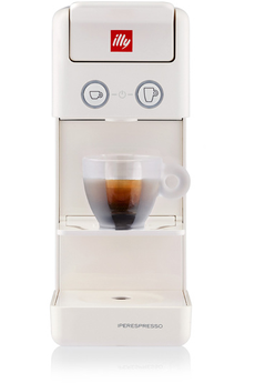 Cafetière à dosette ou capsule Illy ILLY Y3.3 Blanche