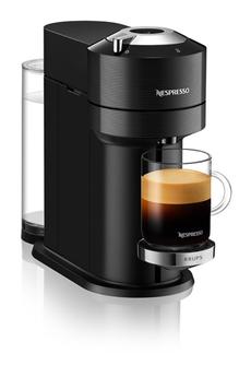 Cafetière à dosette ou capsule Krups Nespresso Vertuo Next Premium Noire 1,1L Finitions Chromées YY4