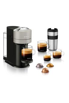 Cafetière à dosette ou capsule Krups Nespresso Vertuo Next Grise 1,1L YY4298FD