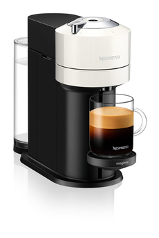 Cafetière à dosette ou capsule Magimix Nespresso Vertuo Next Blanche 1,1L 11706