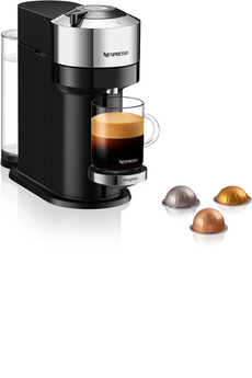 Cafetière à dosette ou capsule Magimix Nespresso Vertuo Next Deluxe 1,1L Pure Chrome 11709