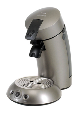 Cafetière à dosette Philips SENSEO HD7812/61 TITANE