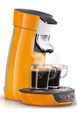 Cafetière à dosette Philips SENSEO HD7825/21 ORANGE VITAMINE