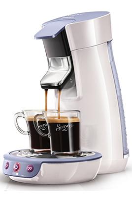 Cafetière à dosette Philips SENSEO HD7825/31 BLANC/LAVANDE