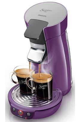 Cafetière à dosette Philips SENSEO HD7825/41 MAUVE
