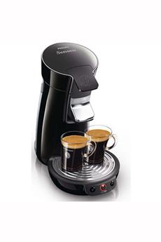Cafetière à dosette SENSEO VIVA CAFÉ HD7825/68 NOIR Philips