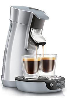 Cafetière à dosette SENSEO VIVA CAFÉ HD7828/59 PACK ARGENT Philips