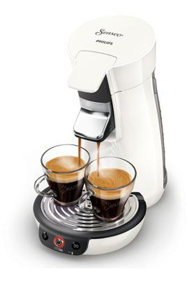 Cafetière à dosette ou capsule SENSEO VIVA CAFE HD7829/01 BLANC Philips