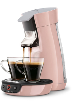 Cafetière à dosette SENSEO VIVA CAFE HD7829/31 ROSE POUDRE Philips