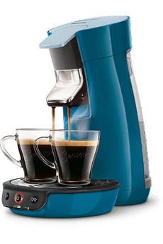 Cafetière à dosette SENSEO VIVA CAFE HD7829/71 BLEU CANARD Philips