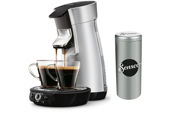Cafetière à dosette ou capsule SENSEO COFFEE BOOST HD7831/13 ARGENT Philips