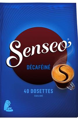 Cafetière à dosette ou capsule Senseo DOSETTES SOUPLES DECAFEINE X40