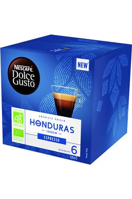 Capsule Nescafé Dolce Gusto Expresso Honduras Pour machine Dolce Gusto Boîte de 12 capsules